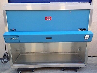 Nuaire NU-425-600 w/Stand A2 Class 2, 6ft (Biological Safety, BioSafety Cabinet)