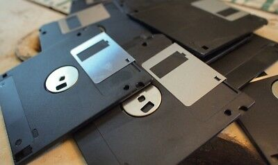 "2x 3.5"" Floppy Disks FreePost 1.44 MB HD High Density - All work after 500 sold"