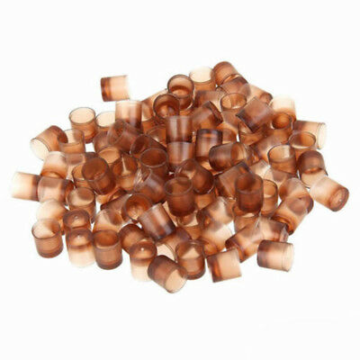 1000x Brown Queen Bee Cell Cups Royal Jelly Cup Rearing Beekeeping Tool Plastic