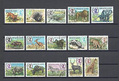 SWAZILAND 1969-75 SG 161/75 USED Cat £25