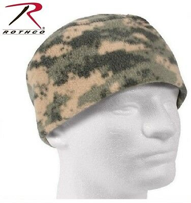 a47eeed4551 Acu Camo Military Style Winter Polar Fleece Watch Cap Skiing Beanie Rothco  8461
