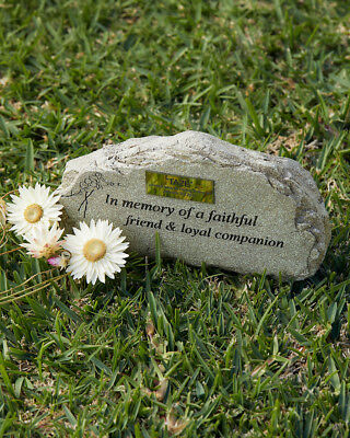 Pet garden marker or grave stone for cat, dog, guinea pig, bird or any animal