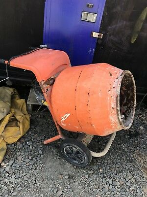 Belle Cement Mixer Mini Mix 150 electric 240v volt 110v site choice of 3