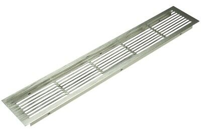 Ventilation Cover 200x70 Aluminium Air Vent Grill  Kitchen Worktop Plinth