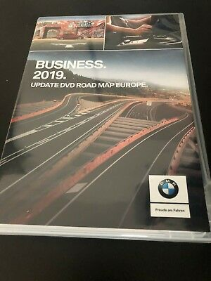 GENUINE BMW 2019 Business Maps Europe Sat Nav Disc DVD Series E60 E90 330 530
