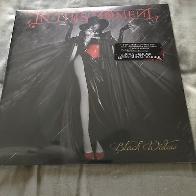 In This Moment, Black Widow SEALED 2-LP Gatefold 545978-1 W/download Of Full Alb