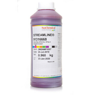 1L Streamline® ESL HPQ | for Roland® | Premium ink from Sun Chemical®