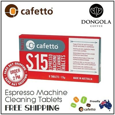 S15 Super Automatic Espresso Coffee Machine Cleaning Cleaner Tablets by CAFETTO