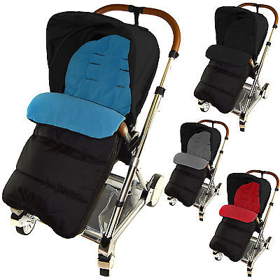 Uk Stock Universal Footmuff Cosy Toes Buggy Pushchair Stroller Pram Baby Toddler