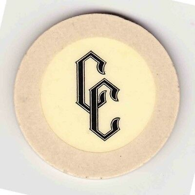 Vintage chip from Nevada Lodge Casino (1958) Lake Tahoe