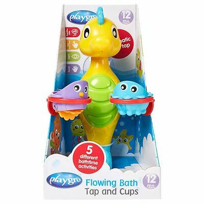 NEW Playgro Flowing Bath Tap And Cups