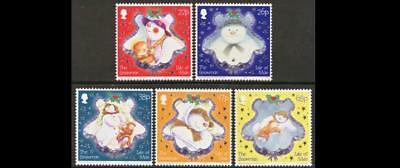 ISLE OF MAN SG1111-1115 2003 CHRISTMAS, The Snowman UNMOUNTED MINT