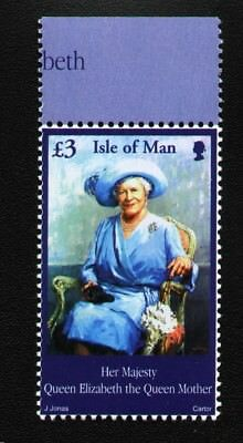 ISLE OF MAN SG982 2002 £3 QUEEN MOTHER COMMEMORATION Unmounted Mint