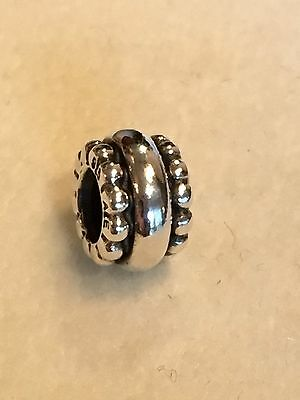 New AUTHENTIC PANDORA 790175 SILVER RING Charm Bead  925 ALE Retired Sterling