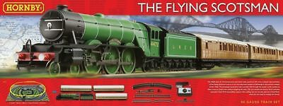 Brand New Hornby Oo The Flying Scotsman Train Set R1167