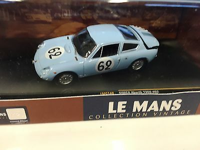 SIMCA Abarth 1300 #62 1962 1:43 IXO LE MANS COLLECTION DIECAST-LMC148