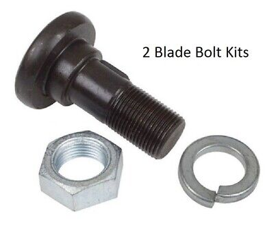 "2 Piece Bush Hog Blade Bolt Kit 1-1/8"" x 3-7/16"" Fits Many Rotary Cutters"