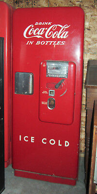 VINTAGE 1950's - all orig. Cavalier 51 Coca Cola Machine exc