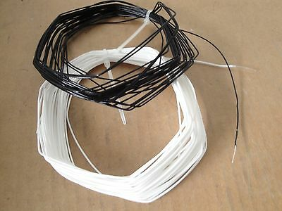 100 Feet 22 Awg Solid Core Silver Plated 600V Mil Spec Audio Teflon Wire