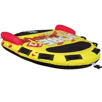 Jobe Scout 2 Person Towable Ski Tube Inflatable Biscuit Boat Ride