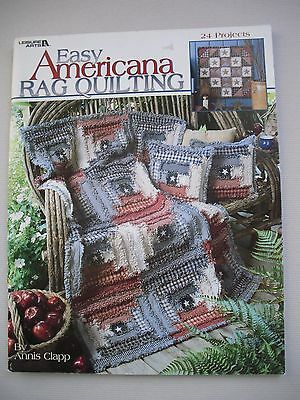 Easy Americana Rag Quilting - Annis Clapp - 24 Projects - Quilting Pattern Book
