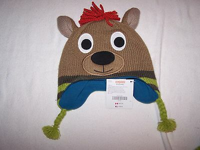 Gymboree NWT Ski School Kangroo Hat 0-12