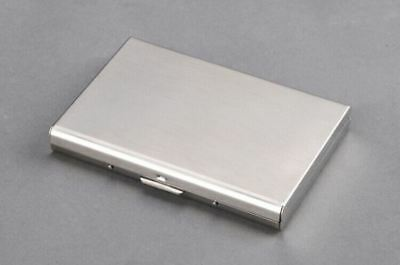 New Arrival Stainless Steel Material Credit Card Holder Case For Unisex Q681