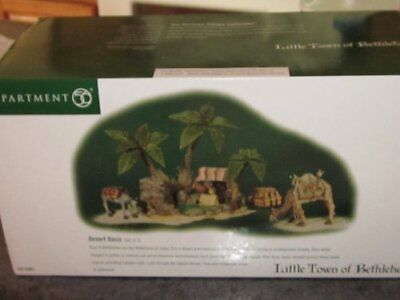 Dept 56 Little Town of Bethlehem Desert Oasis