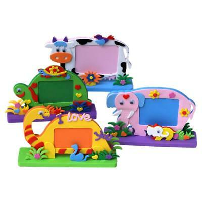 3D Cartoon DIY EVA Photo Frame Stickers Children Baby Educational Toys Gift