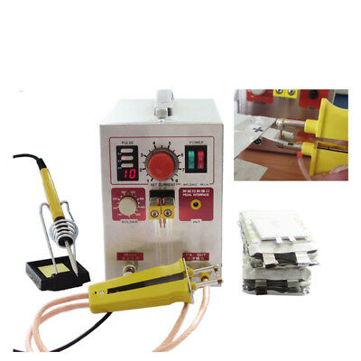 110V/220V 3 in 1 2.2kw Pulse Spot Welder Battery Welding Soldering Machine 709AD