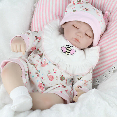 "22"" Bambole Hot Sale Lifelike Silicone Reborn Baby Doll Playmat Regalo di Natale"