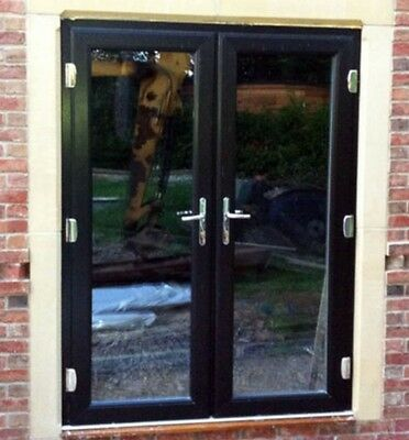 uPVC French Doors / Black / Made to Measure / Nationwide Delivery / BRAND NEW