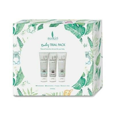 NEW  SUKIN Baby Trial Gift Pack