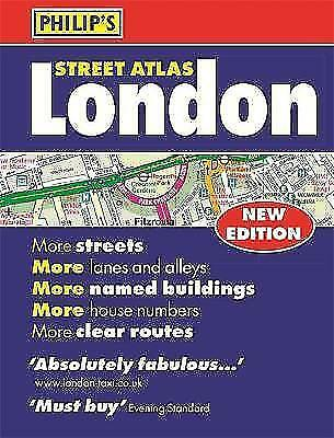 Philip's Street Atlas London - new perfect-bound edition for 2018: Mini Paperbac