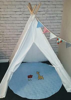 Children's Teepee. Kids play tent, Wigwam Tipi Tepee Bundle Deal
