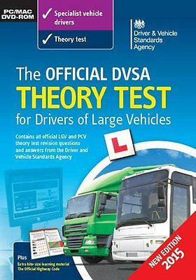 Dvsa Theory Test DVD ROM CD for Lorry & Bus Drivers LGV / PCV / HGV LGVDV #1