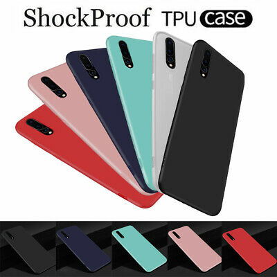 For Huawei P30 P20 Pro P8 P9 Lite Mini 2017 360° Protect Rubber TPU Cover Case