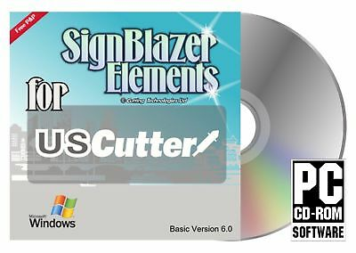 SignBlazer Signwriting Software V 6 - Vinyl Cutting Software - DOWNLOAD LINK