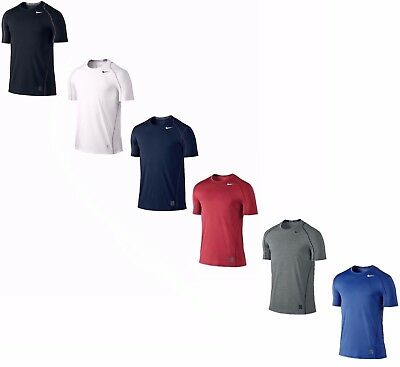 Nike Men's Dri-Fit Pro Cool Fitted Short Sleeve Shirt - NWT
