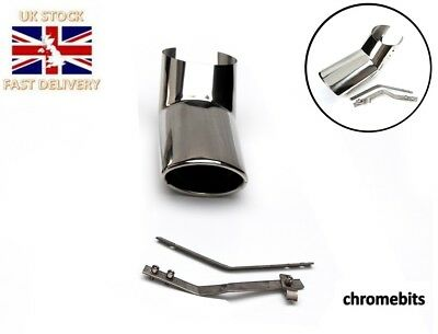 Exhaust Pipe Muffler Tip Stainless Steel Fits For Mercedes ML Class W163 97-05