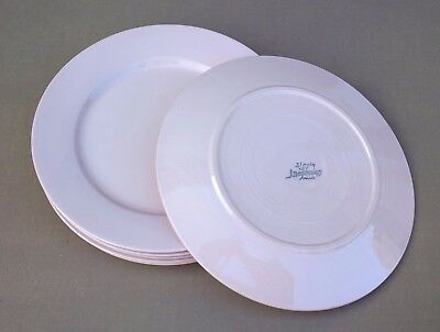 6 assiettes plates DIGOIN rose ancienne vintage table french dishes plates #1