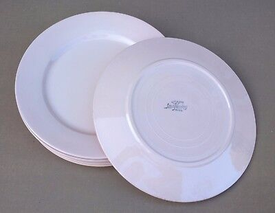 6 assiettes plates DIGOIN rose ancienne vintage table french dishes plates #4