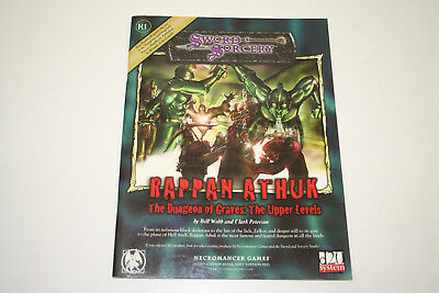 ROLLENSPIEL D20 D&D: RAPPAN ATHUK: THE DUNGEON OF GRAVES - THE UPPER LEVELS, Ro1