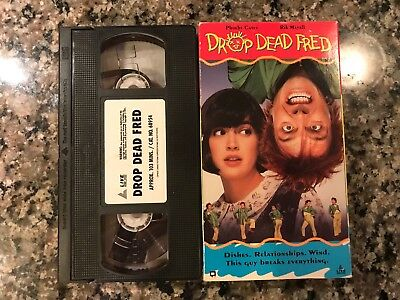 Drop Dead Fred Vhs! 1991 Fantasy Drama! Also See Death Becomes Her & Shag