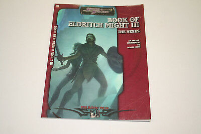 ROLLENSPIEL D20 D&D: SWORD & SORCERY: BOOK OF ELDRITCH MIGHT III: THE NEXUS, Ro1
