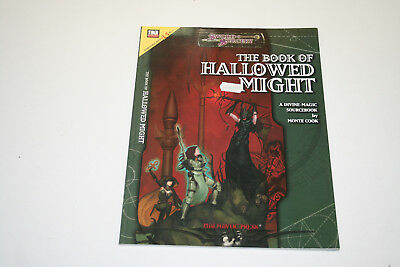 ROLLENSPIEL D20 D&D: SWORD & SORCERY: THE BOOK OF HALLOWED MIGHT Quellenbuch Ro1