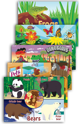 Early Years Themes Posters Animals - Primary School Infants