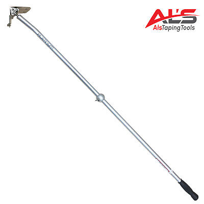 "Platinum Drywall Tools 3.5"" Drywall Corner Flusher / Glazer W/ Handle"