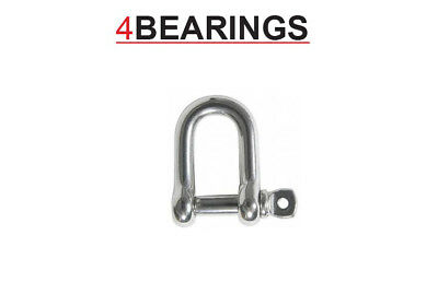 6Mm To 12Mm Dee Shackle Stainless Steel Marine **please Choose**