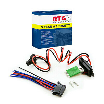 Heater Motor Fan Resistor + Wiring Harness Loom For Renault Scenic & Grand